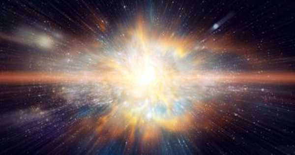 A Supernova Explosion is caused by a Stellar Collision