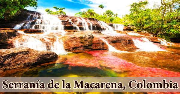 Serranía de la Macarena, Colombia