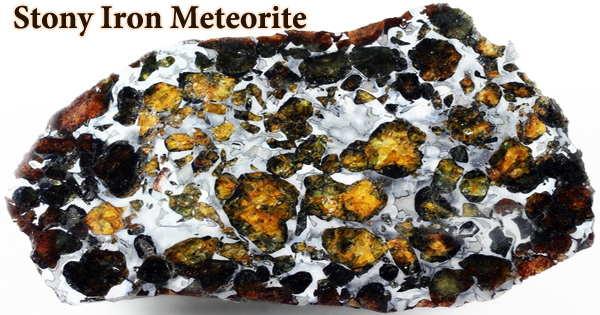 Stony Iron Meteorite