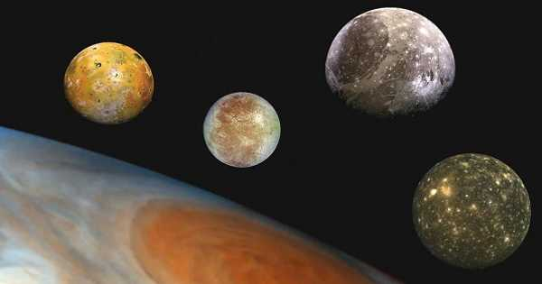 The Moons of Jupiter may be Exchanging Heat