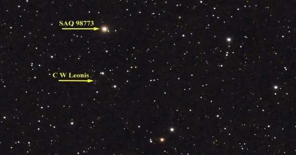 CW Leonis – a Red Giant Star