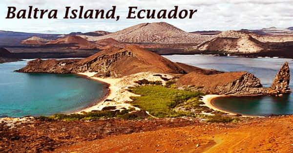 Baltra Island, Ecuador