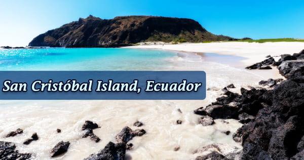 San Cristóbal Island, Ecuador
