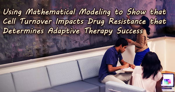 Using Mathematical Modeling to Show that Cell Turnover Impacts Drug Resistance that Determines Adaptive Therapy Success